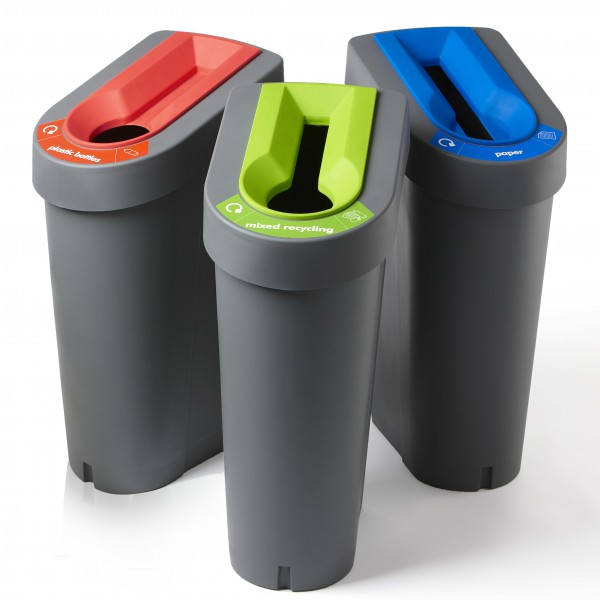 Recycled plastic waste bins - G&B SYSTEMS